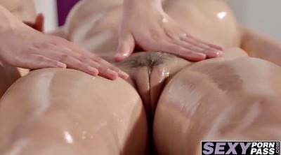 Asian lesbian, Big butts, Sexy asian, Massag, Asian lesbian massage